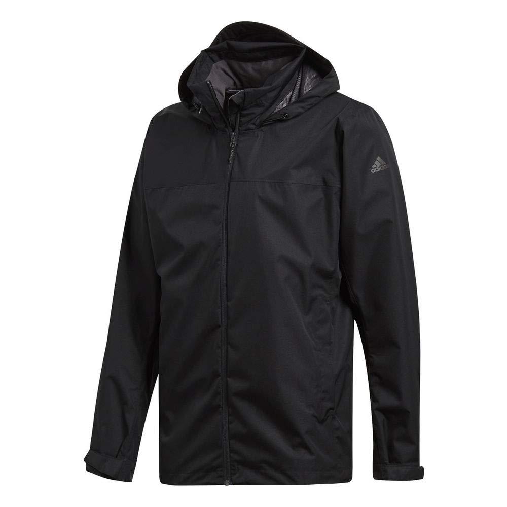 adidas Outdoor Men's Wandertag Jacket, XS, Black by adidas outdoor