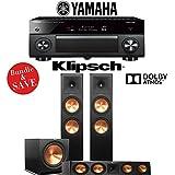 Yamaha AVENTAGE RX-A3070BL 11.2-Ch Dolby Atmos Network AV Receiver + Klipsch RP-280FA + Klipsch RP-450C + Klipsch R-115SW - 3.1-Ch Dolby Atmos Package