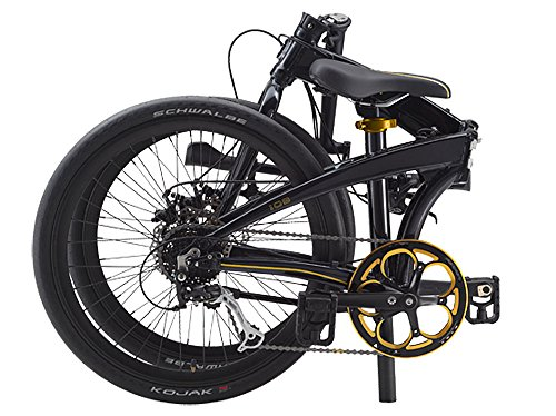Dahon IOS D9 Black & Gold Folding Bike