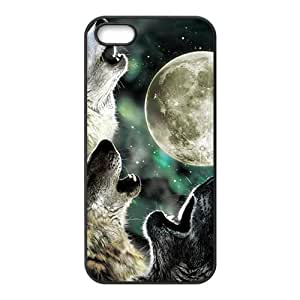 linJUN FENGHowling under moon Sirius Cell Phone Case for iPhone 5S