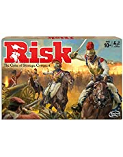 Risk - Game of Strategic Conquest - 2 to 5 Players - Family Board Games - Ages 10+