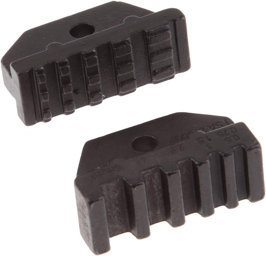 Black Light /& Compact Structure Interchangeable Die Set for Non-Insulated//Insulated Terminals /& Connectors Replacement Parts A03C