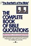 Complete Book of Bible Quotations, Mark L. Levine, 067167692X
