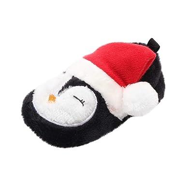 Zapatos De Navidad De Bebé Recién Nacidos Niña Niño Zapatos ...
