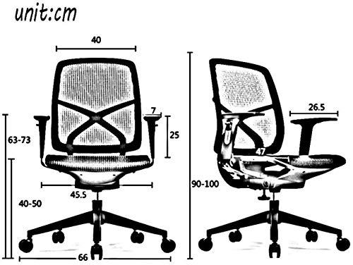 Skrivbordsstolar svängbar stol, ergonomisk datorstol hushåll svängbar stol mode kontorsstol knästol