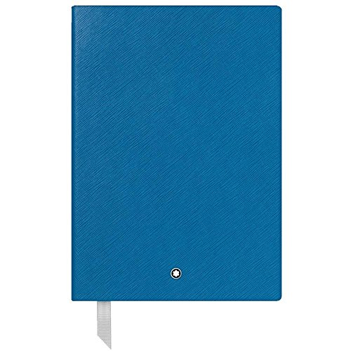 Mont Blanc Diaries - Montblanc Fine Stationary Unisex Turquoise Lined Leather Notebook Accessories 116516