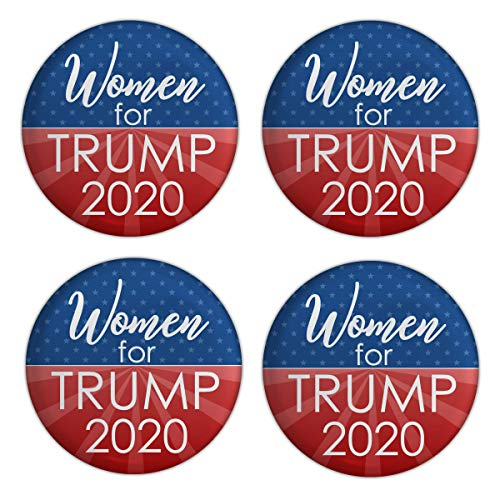 - Elephield 2 1/4 inch Women Support for President Trump 2020 Elections Campaign Support Pin Buttons Pack of 20, A