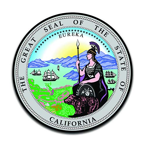 Buy seal beach california sticker