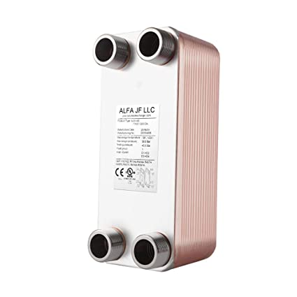 Brazed Plate Heat Exchanger Stainless Steel SS316L 3