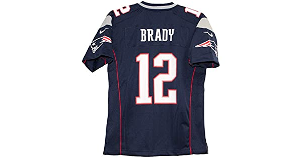 49a810416b5b9 Tom Brady New England Patriots   12 Nike Youth Game Jersey - Color Azul  Marino