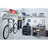 EZ Shelf - Expandable Garage Shelves (4 Pack) up to 25 ft. of Storage Space - White