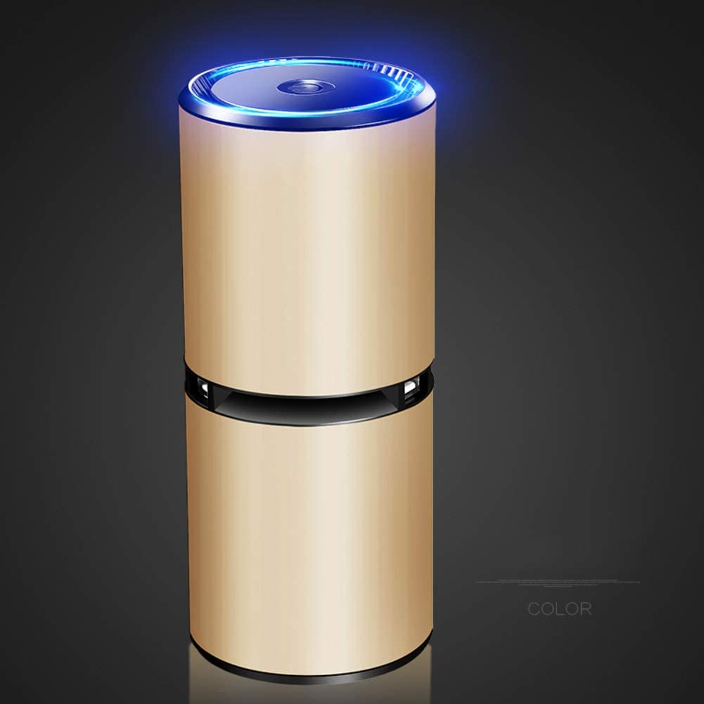 DW&HX Portátil Coche Purificador de Aire Limpiador, Ionizador ...