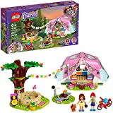 LEGO Friends Nature Glamping 41392 Building Kit; Includes LEGO Friends Mia, a Mini-Doll Tent and a Toy Bicycle, New 2020 (241 Pieces)