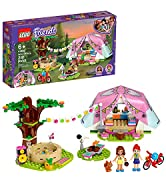 LEGO Friends Nature Glamping 41392 Building Kit; Includes LEGO Friends Mia, a Mini-Doll Tent and ...