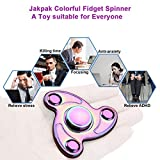 Fidget Spinner EDC Spinner [High Speed, 2-6 Min Spins] Jakpak New Design Tri-Spinner Metal Fidget Hand Spinner ADHD Fidget Toy, Anxiety Foucs Hand Toy for Boredom Stress Child or Adult Cool Pocket Toy