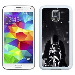 NEW Unique Custom Designed Samsung Galaxy S5 I9600 G900a G900v G900p G900t G900w Phone Case With Infamous Second Son Black And White_White Phone Case