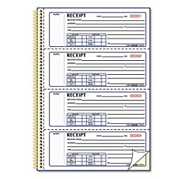 RED8L810 - Money Receipt Book
