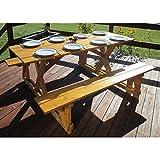 Cheap Infinite Cedar EZ-Access Cedar Picnic Table