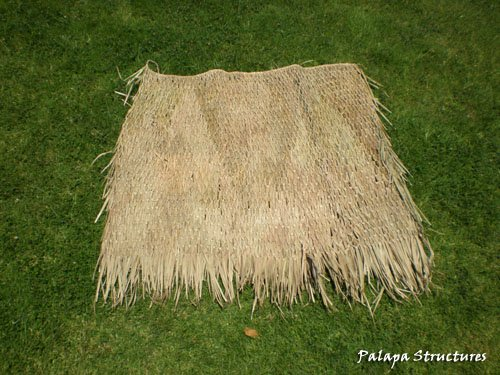 - Tiki Bar Thatch Covering / Carribean Hut - 4 Panel pack!