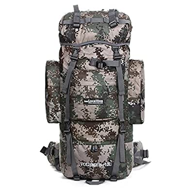 Paladineer Outdoor Sport Internal Frame Pack Hiking Backpack for Hiking Climbing Camping 85L