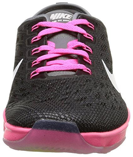 Wmns Zoom pink NIKE Fit Pow Agility Donna Black cool Scarpe White Grey Sportive gB1Hwxq1