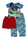 Lego Star Wars 3 piece Pajamas Set (8, Lego Star Wars Blue/Red)