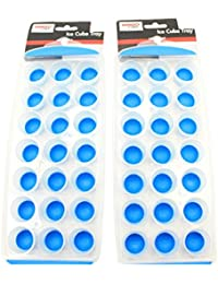 Buy 2 Pack Family Chef Silicone Push Out Ice Cube Trays (Blue) occupation