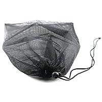 Reusable Nylon Mesh Storage Stuff Bag Multi Purpose Bag with Drawstring Lock for Golf Tennis Balls,Gym,Shower,Washing Toys,Swimming,Beach 7pcs