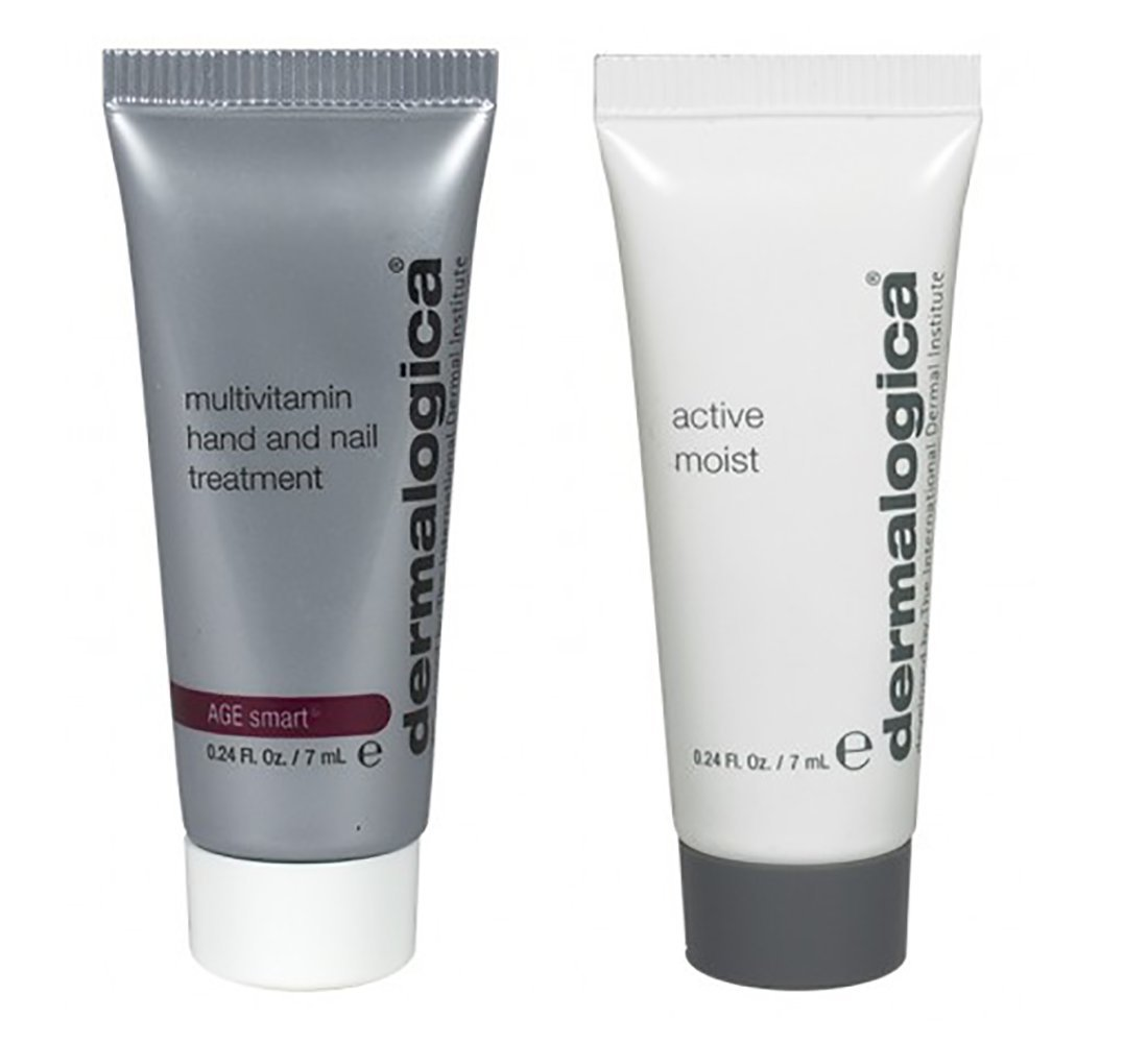 Amazon.com : Dermalogica Active Moist and Hand and Nail Treatment ...