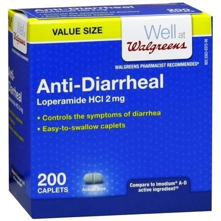 Anti-Diarrheal Caplets - 3PC by Walgreens