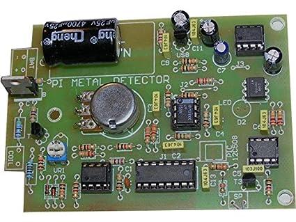 Detector de metal para el montaje Jabel J-297 tipo PI (Inducción de pulso