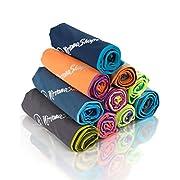 NirvanaShape ® Mikrofaser Handtuch | ideal als Camping-Handtuch & Bade-Handtücher | kompakt, leicht, schnelltrocknend…