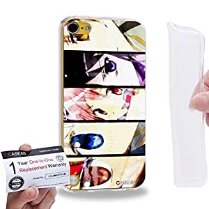 Case88 [Apple iPod Touch 5] Gel TPU Carcasa/Funda & Tarjeta de garantía - Puella Magi Madoka Magica Madoka, Homura, Sayaka, Mami & Kyoko 1035