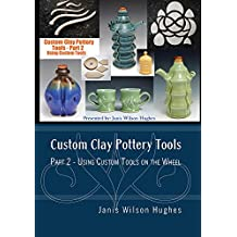 Custom Clay Pottery Tools Part 2 - Using Custom Tools on the Wheel