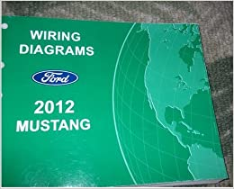 2012 ford mustang electrical wiring diagram service shop repair manual ewd  2012: ford: amazon com: books