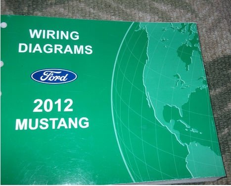 2012 ford mustang electrical wiring diagram service shop repair manual ewd  2012: ford: amazon.com: books  amazon.com