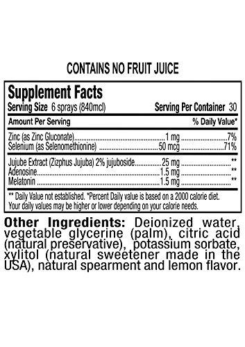 Spray for Life Melatonin Spray with Nanotechnology for Improved Sleep Guaranteed 1oz - Spearmint & Lemon - 30 Day Supply by Spray For Life (Image #2)