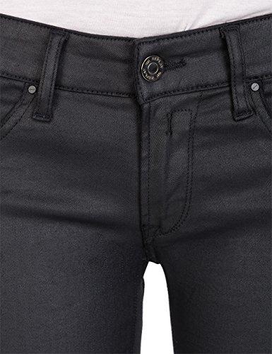 Jeans Luz black Skinny Back Denim Replay Nero 7 Zip Donna qwdUdntF