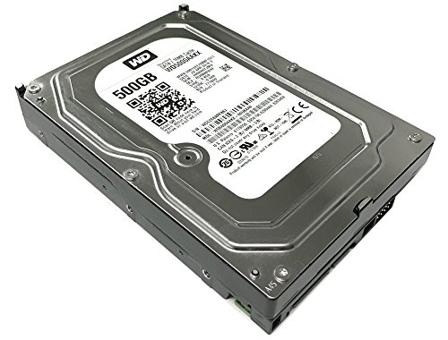 (Western Digital Caviar Blue WD5000AAKX 500GB 7200RPM 16MB Cache SATA 6.0Gb/s 3.5in Internal Hard Drive (Renewed) - w/ 1 Year Warranty)