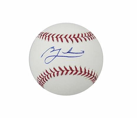Sports Mem, Cards & Fan Shop Just Jon Lester Autographed Signed 2016 World Series Mlb Baseball Ball Cubs Jsa Coa Outstanding Features