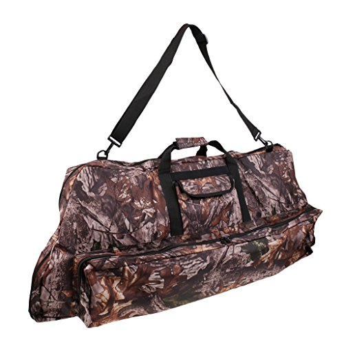 MagiDeal Camouflage Recurve Compound Bow Bag Case Cover Holder Backpack Archery Accessories by MagiDeal (Image #10)