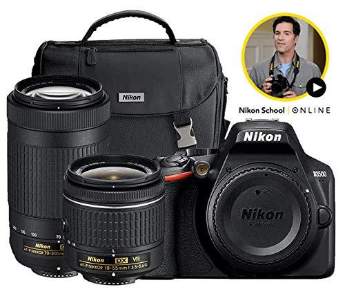 Amazon.com: Nikon D3500 - Cámara réflex digital con lentes ...