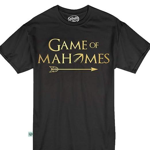 c48bf2ba670 Amazon.com: Game Mahomes QB Jersey 15 Kansas City KC Football Tshirt ...