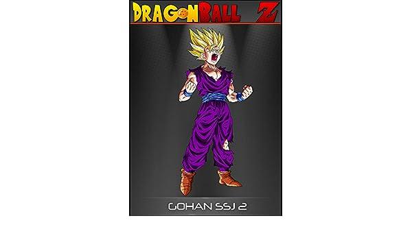 Dragon Ball Z Gohan SSJ 2 A1 A2 A3 A4 Póster Anime Manga Super Saiyan Goku Vegeta, papel brillante/papel, A2: Amazon.es: Hogar