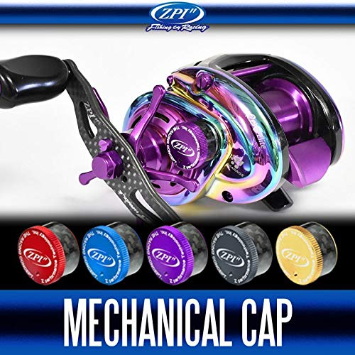 Series Mgx (ZPI Color Mechanical Cap MCR01 for Abu LTZ, LTX, MGX, 13 REVO Elite, Power Crank etc)