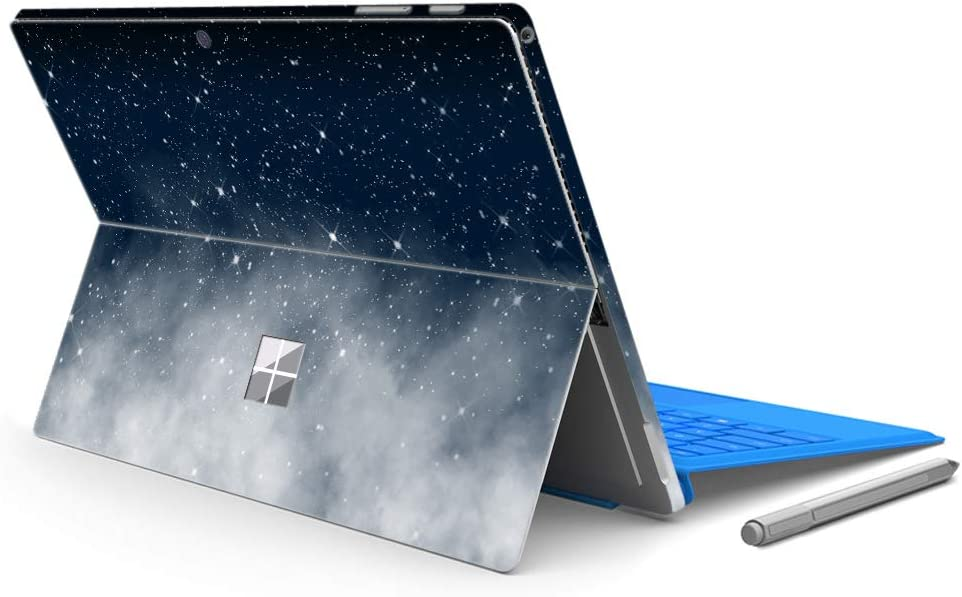 """MasiBloom Laptop Decal Sticker for 12.3"""" Microsoft Surface Pro 6 (2018 Released) & New Surface Pro 2017 & Pro 4 Anti-Scratch Vinyl Protective Cover Skin (for Surface Pro 6/ Pro 5/ Pro 4, Starry Sky)"""