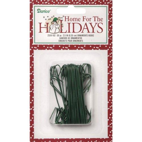 """Darice Ornament Hooks 2.5"""" 50/Pkg-"""