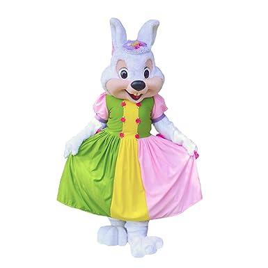 Amazon.com: KF niña Mascot fiesta de conejo de Pascua ...