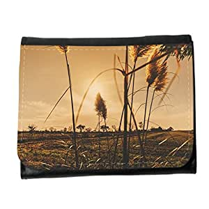 le portefeuille de grands luxe femmes avec beaucoup de compartiments // M00313123 Sunset Plantas campos rurales del país // Small Size Wallet