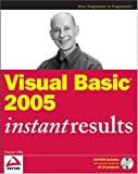 Visual Basic 2005 Instant Results, Thearon Willis, 0470118717